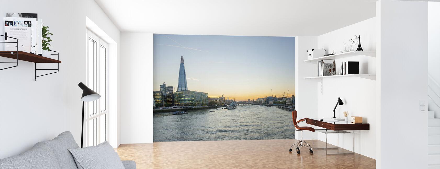 London Cityscape - Wallpaper - Office