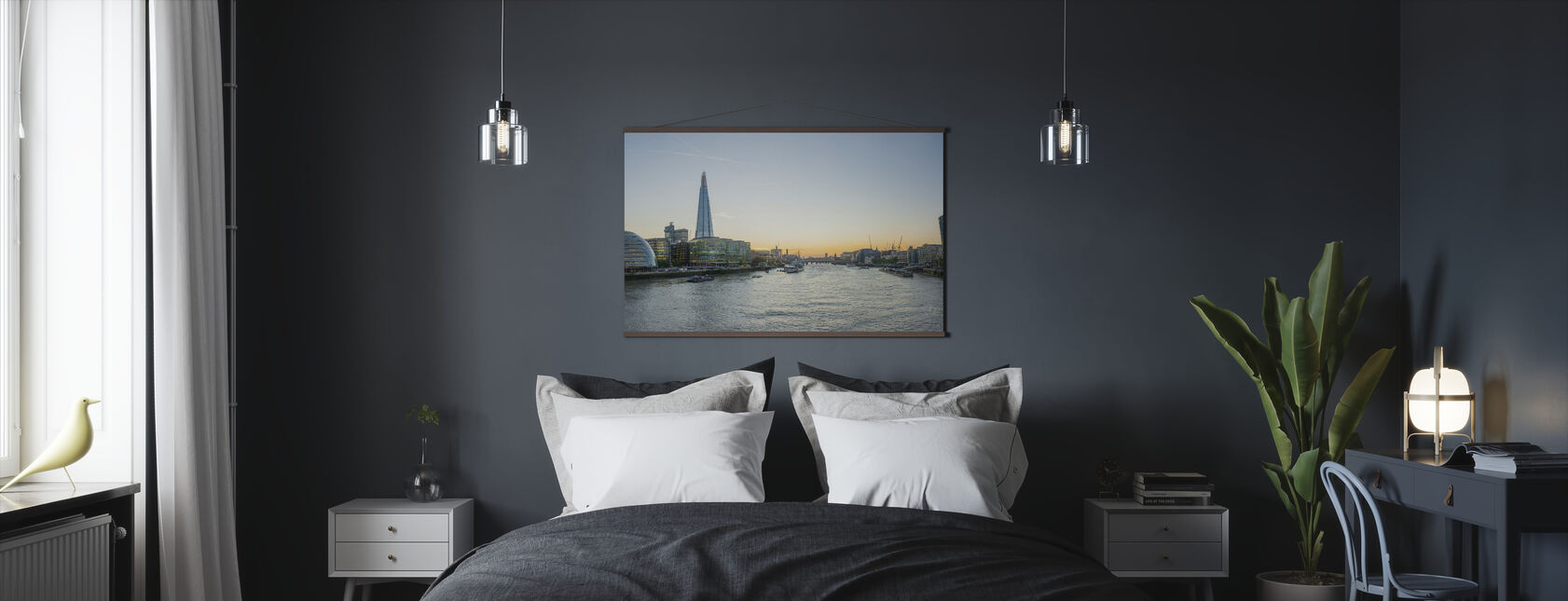 London Cityscape - Poster - Bedroom