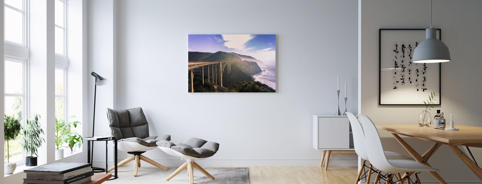Monterey Dreams - Canvas print - Living Room