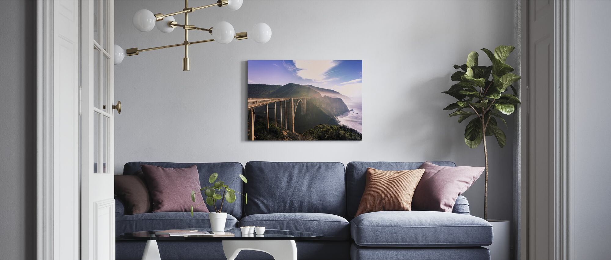 Monterey Dreams - Canvas print - Living Room