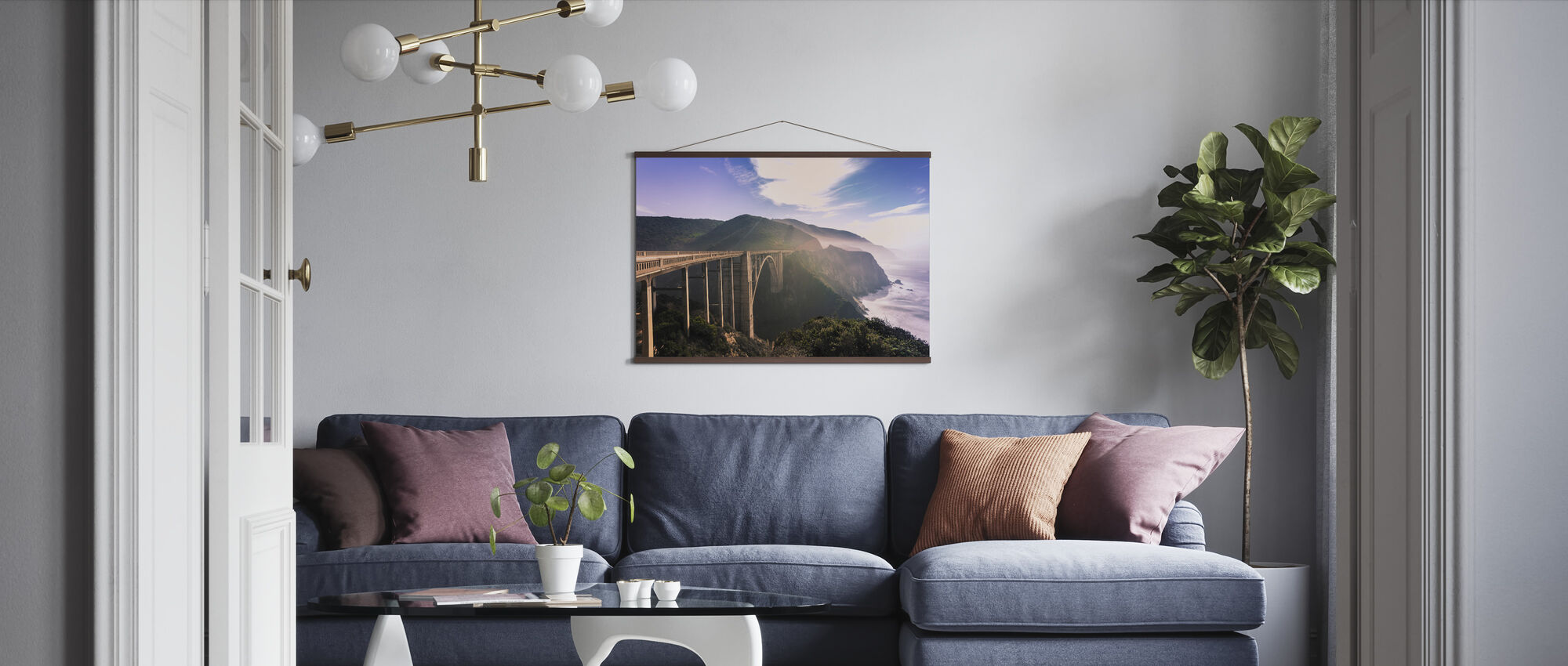 Monterey Dreams - Poster - Living Room