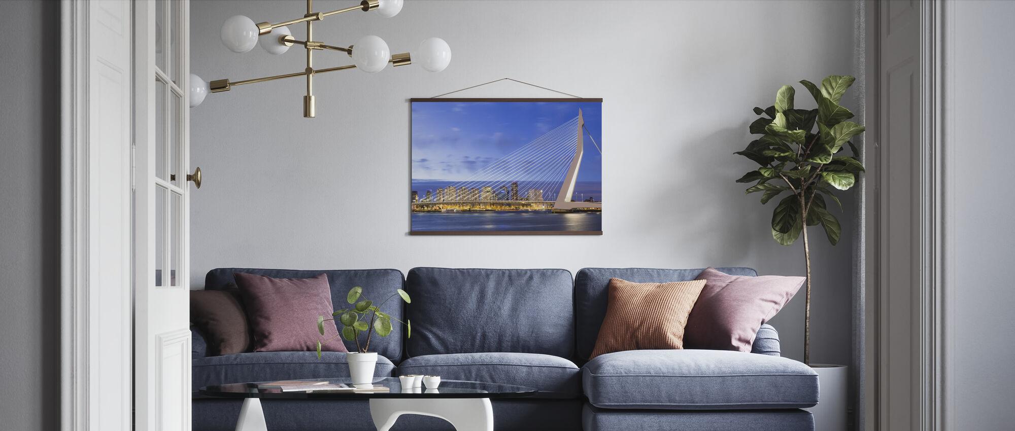 De Strings van Rotterdam - Poster - Woonkamer