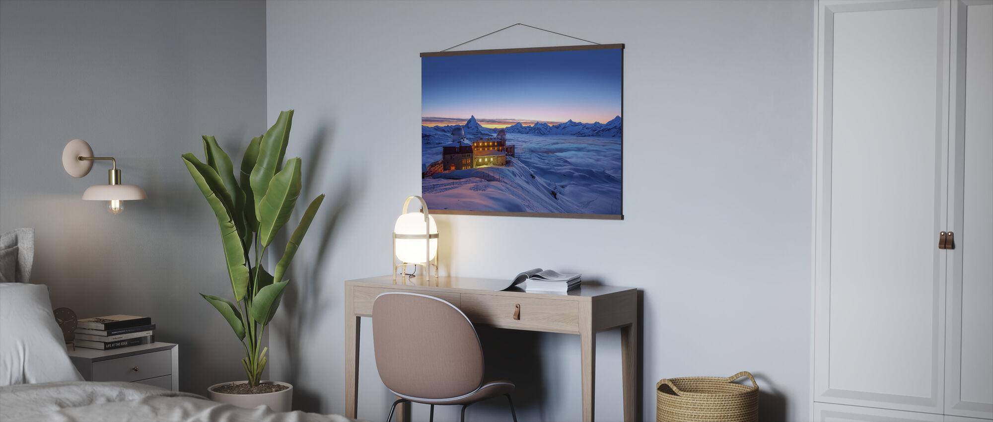 Twilight Stay at Matterhorn Peak - Poster - Office