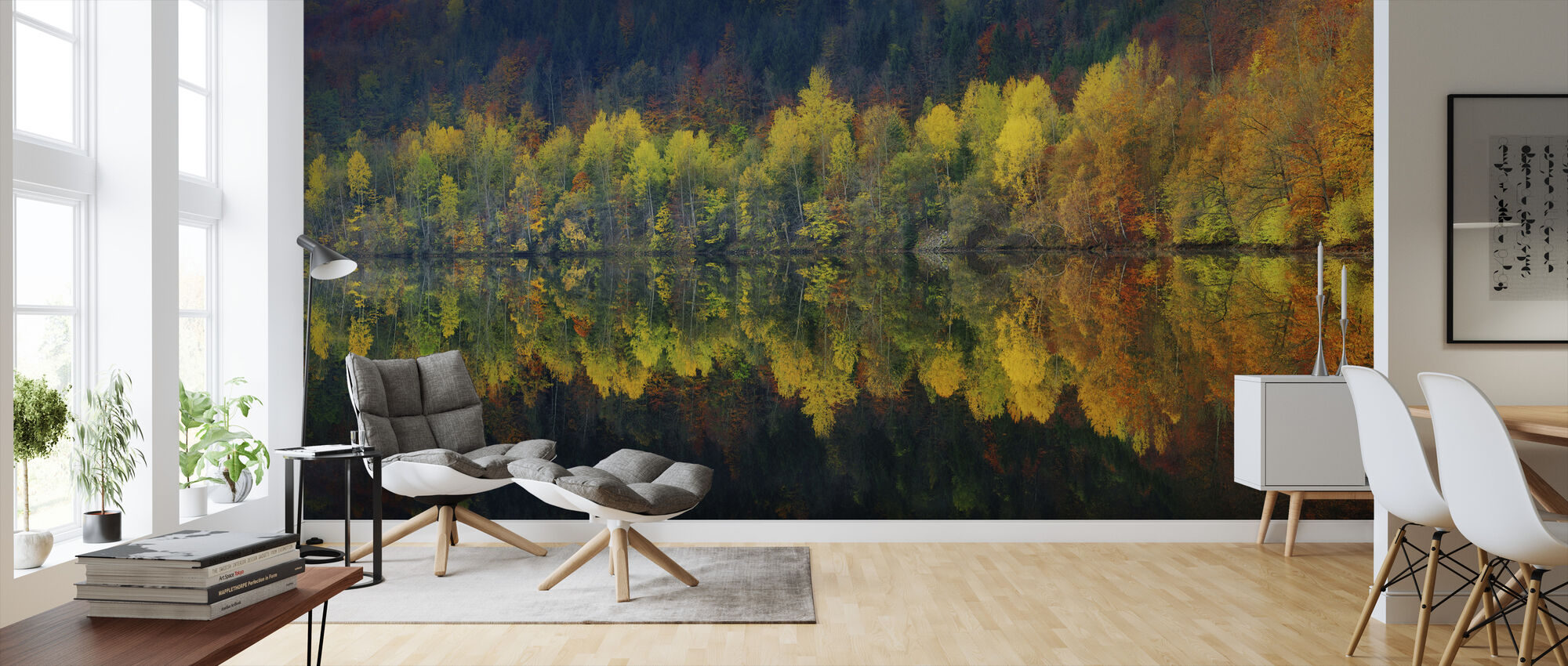 Autumnal Silence - Wallpaper - Living Room