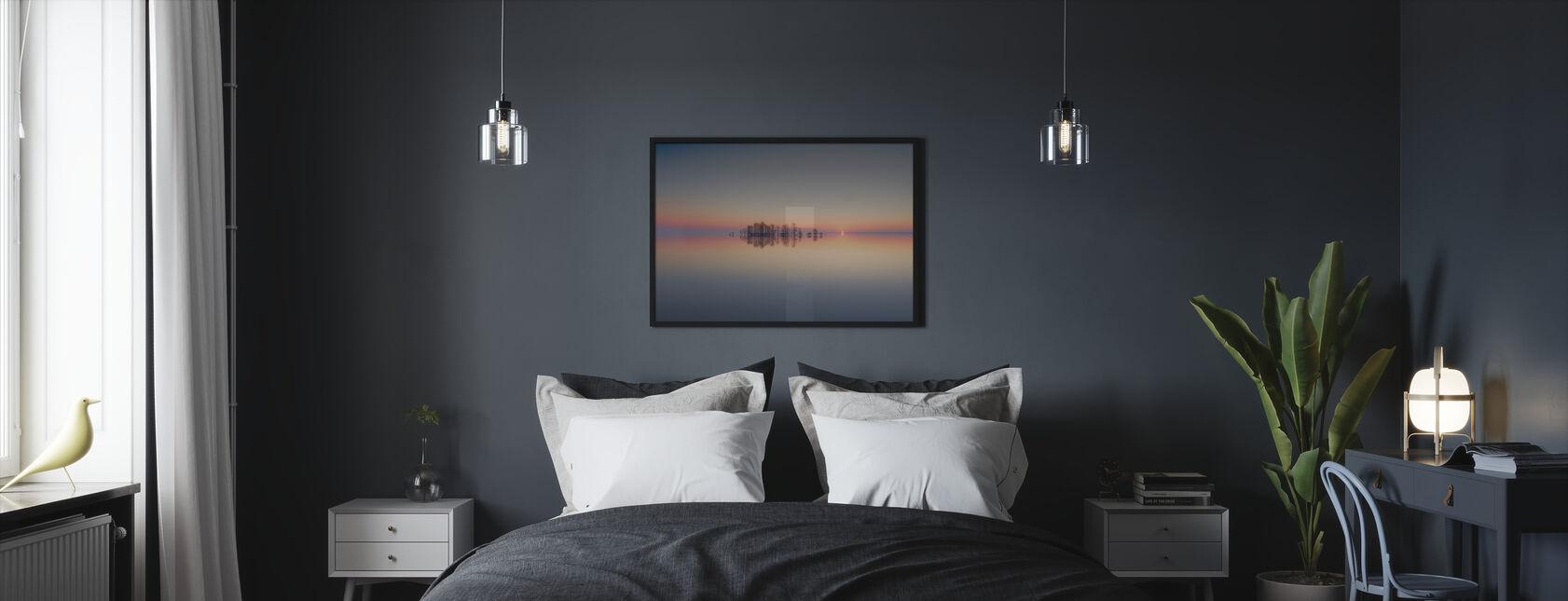 Dawn at Lake Mattamuskeet - Framed print - Bedroom