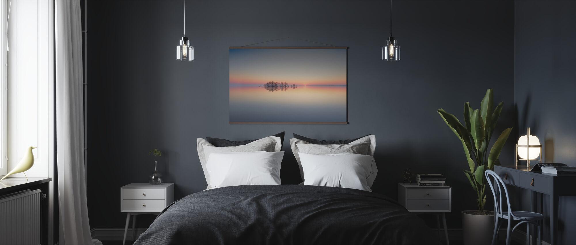 Dawn at Lake Mattamuskeet - Poster - Bedroom