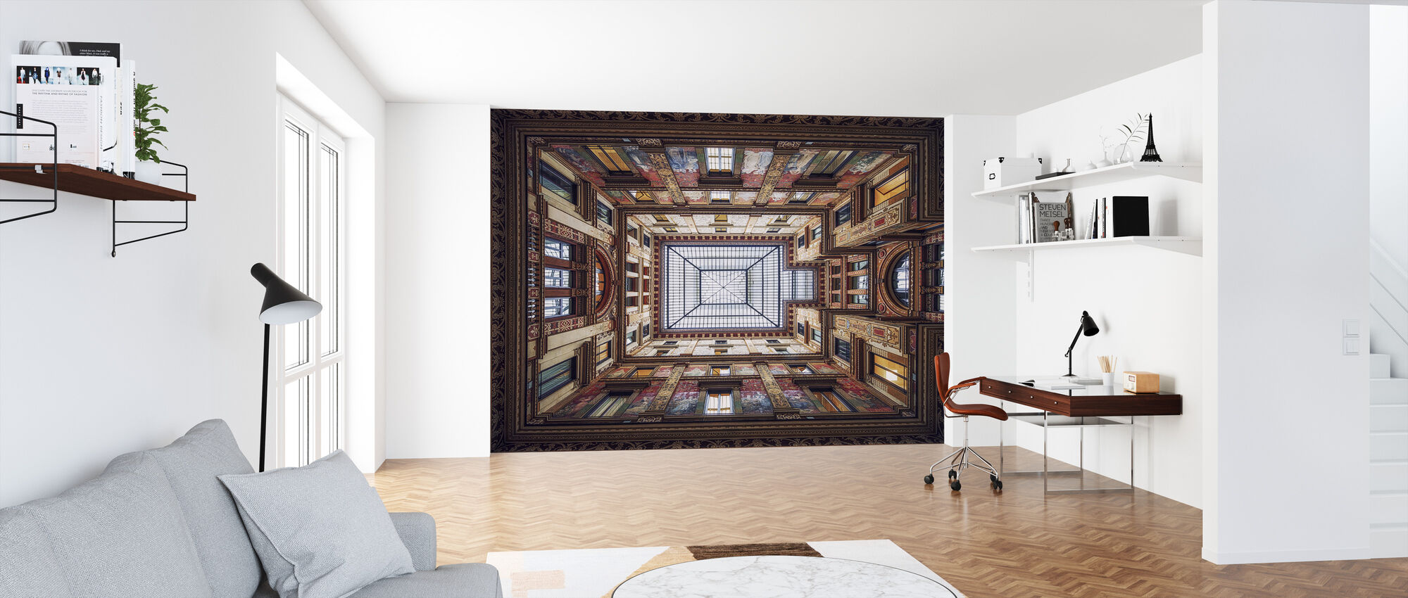 Galleria Sciarra, Rome - Wallpaper - Office