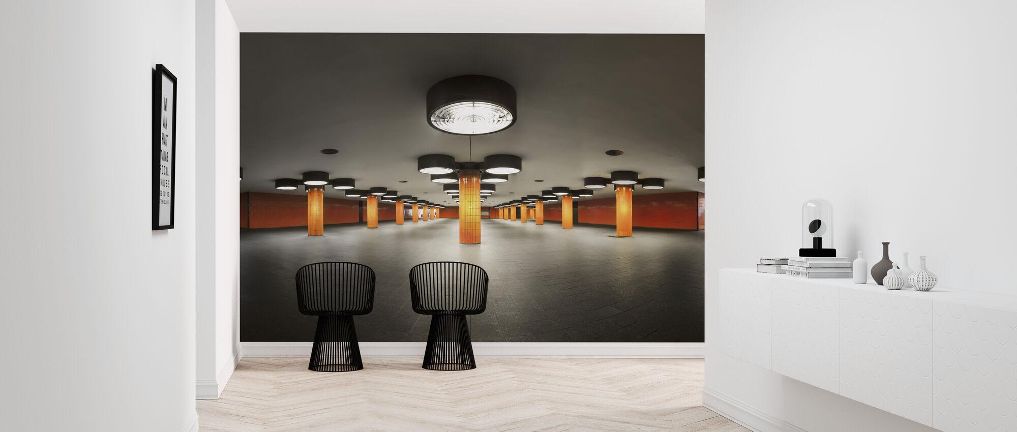 On stage - Wallpaper - Hallway