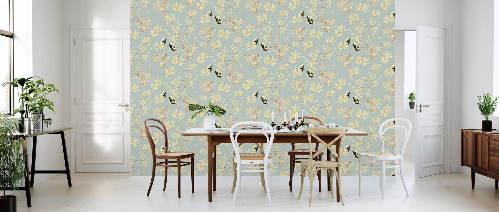 Mothers Magnolia Softish - Wallpaper - Kitchen