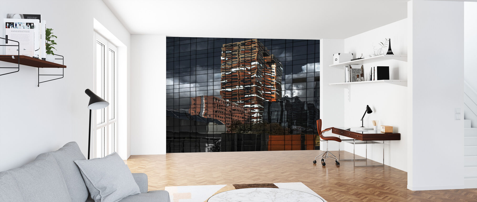 Puzzle Reflection - Wallpaper - Office
