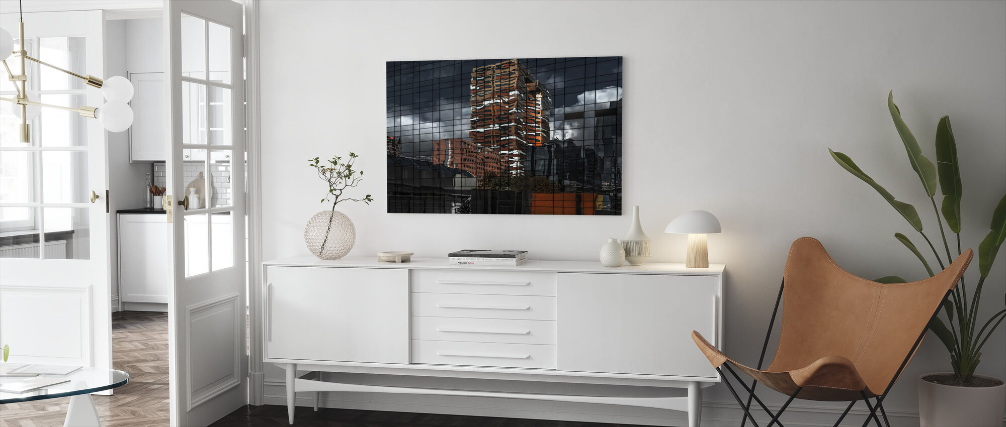 Puzzle Reflection - Canvas print - Living Room