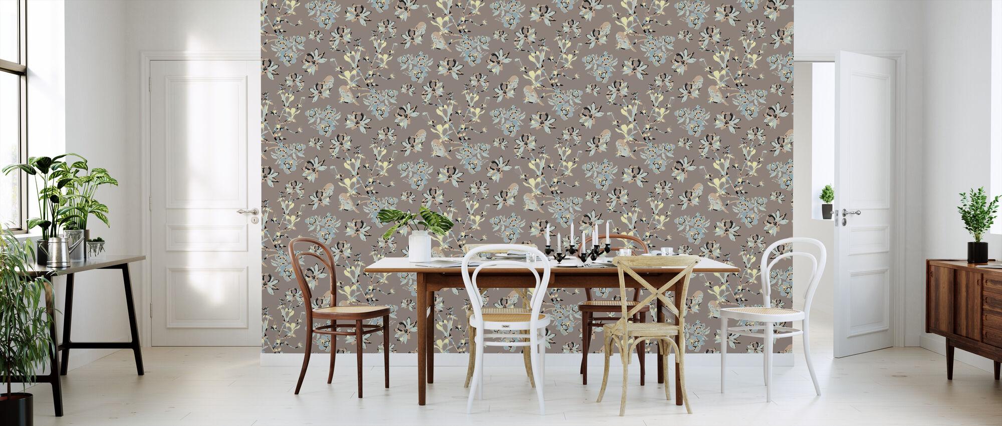 Mothers Magnolia - Wallpaper - Kitchen