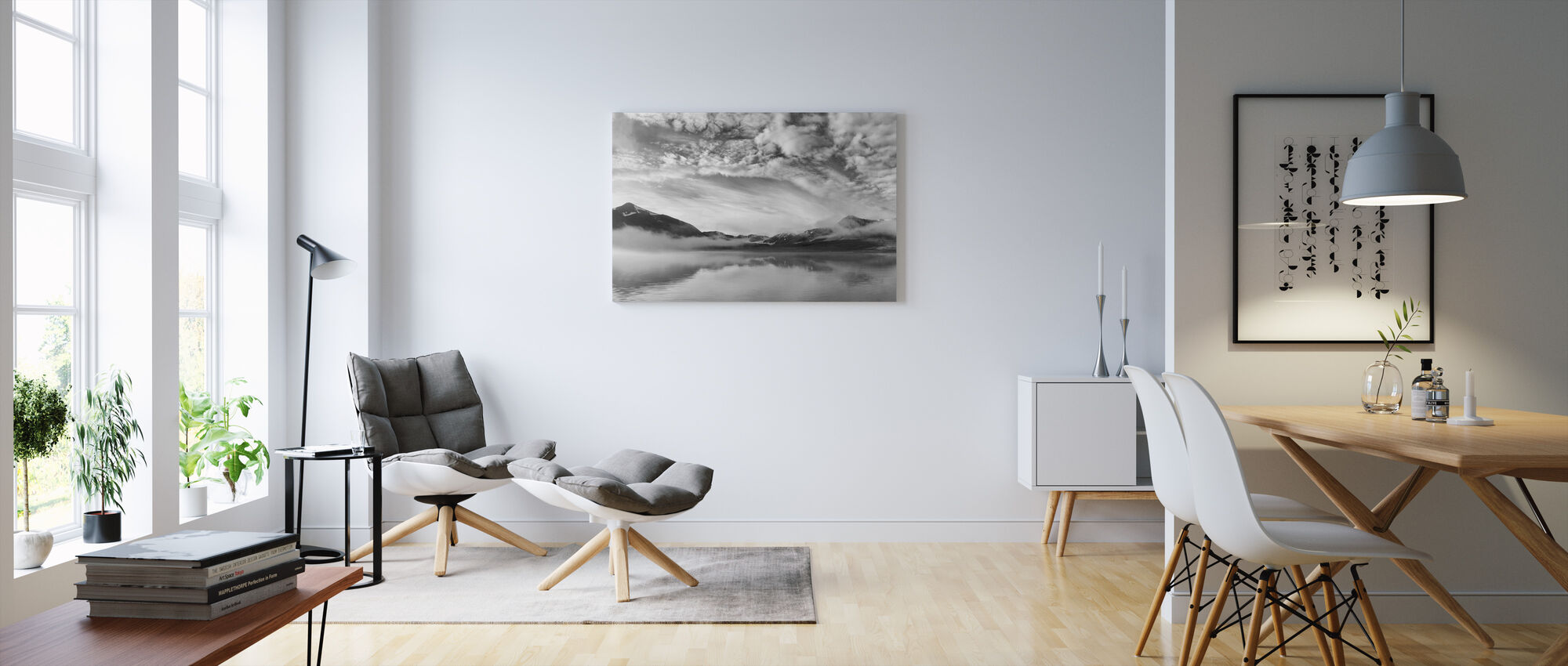 Soft Morning Mist - Canvas print - Living Room