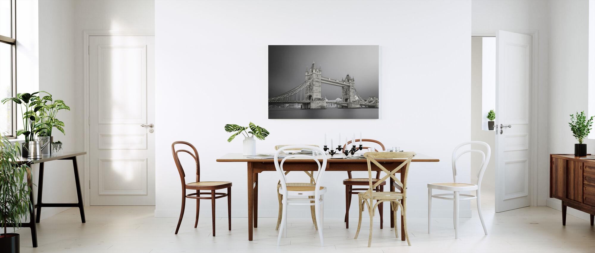 Grå Tower Bridge - Canvastavla - Kök