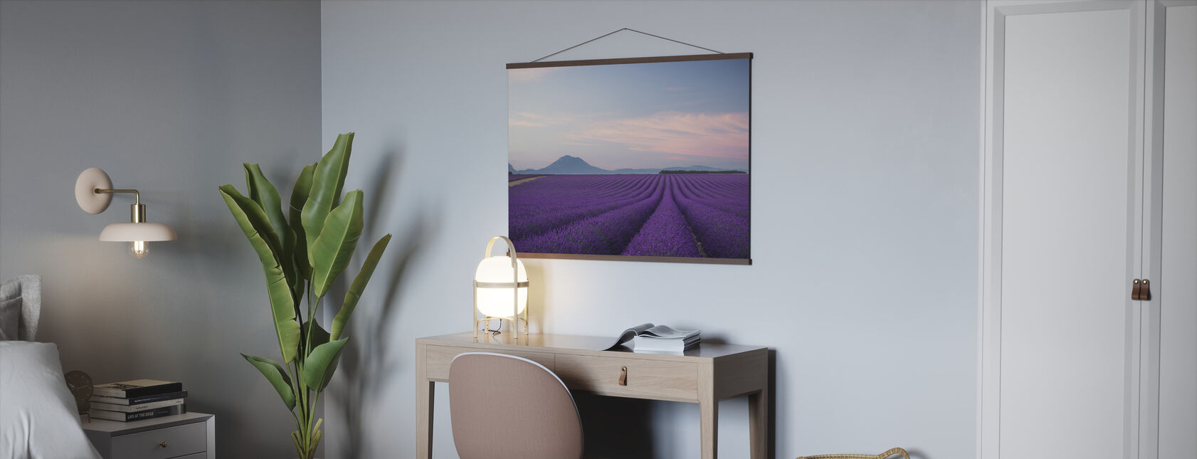 Lavender field - Poster - Office