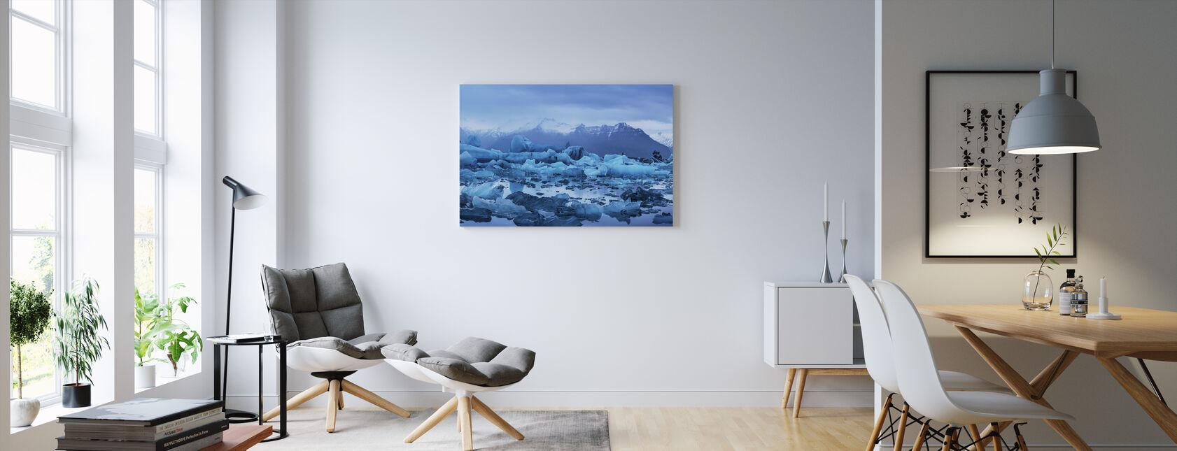 Licht Islands - Leinwandbild - Wohnzimmer