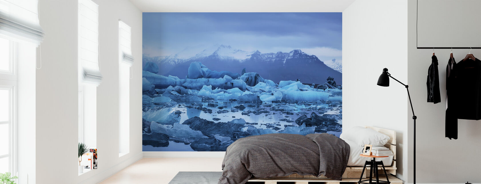 Light of Iceland - Wallpaper - Bedroom