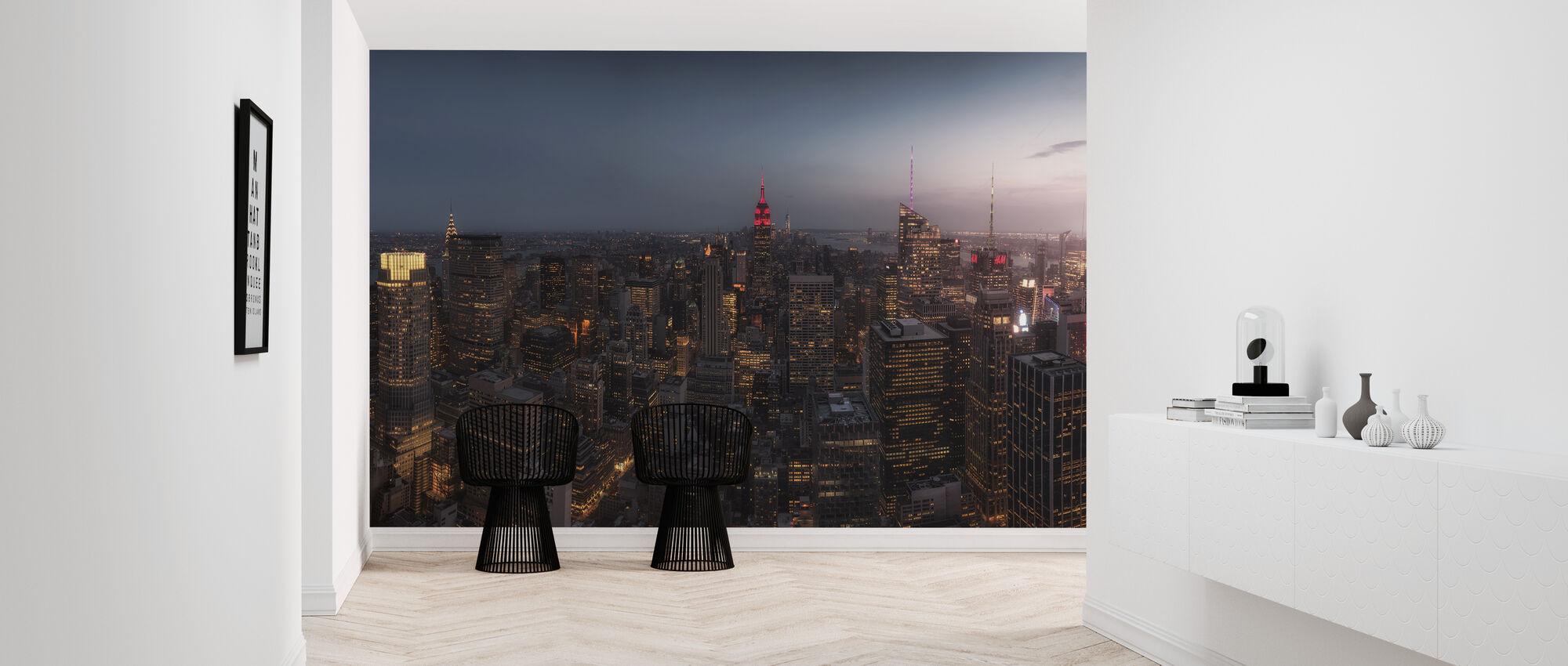 Lights of New York - Wallpaper - Hallway