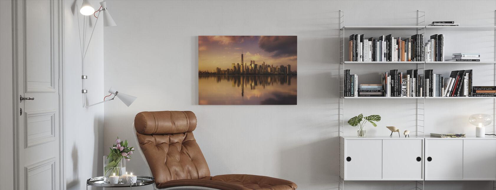 New York Dromen - Canvas print - Woonkamer