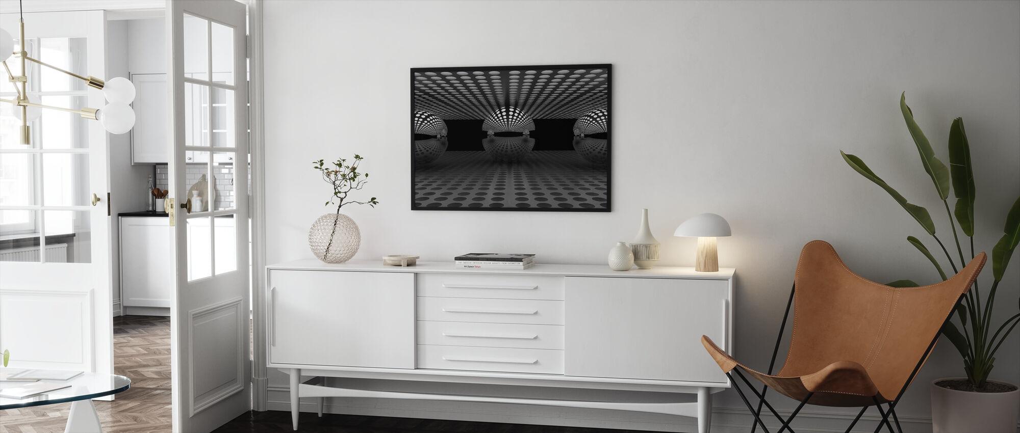Pacman Family - Framed print - Living Room