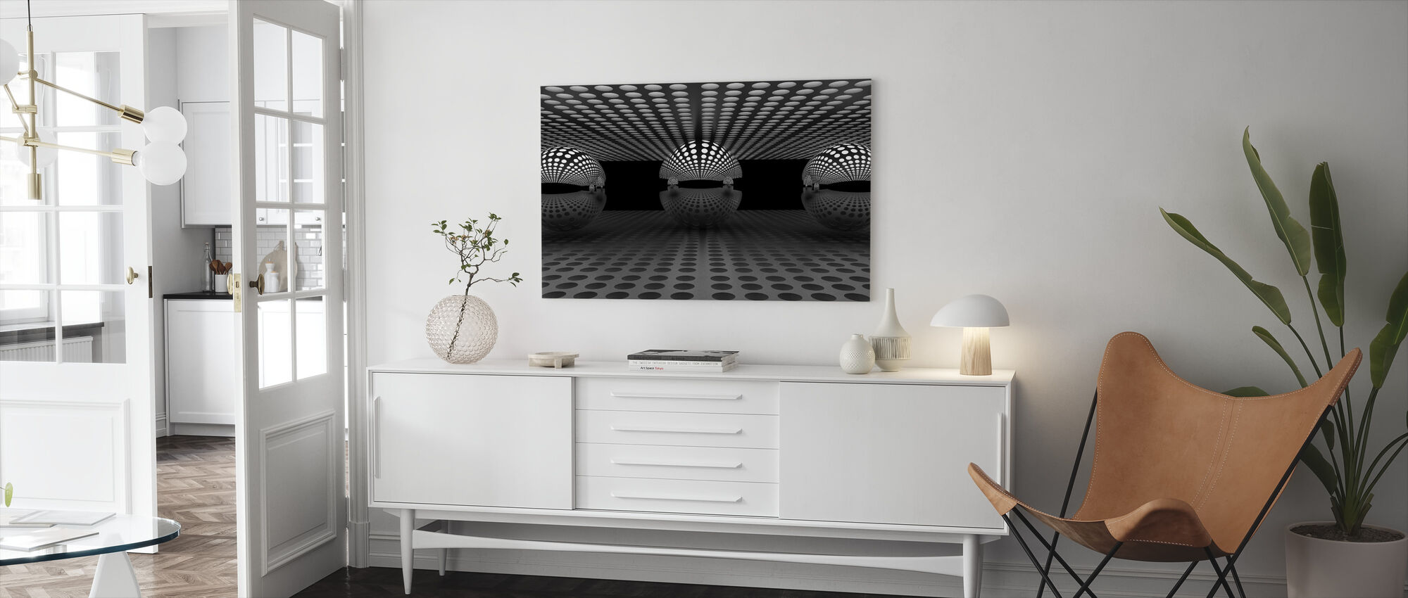 Pacman Family - Canvas print - Living Room