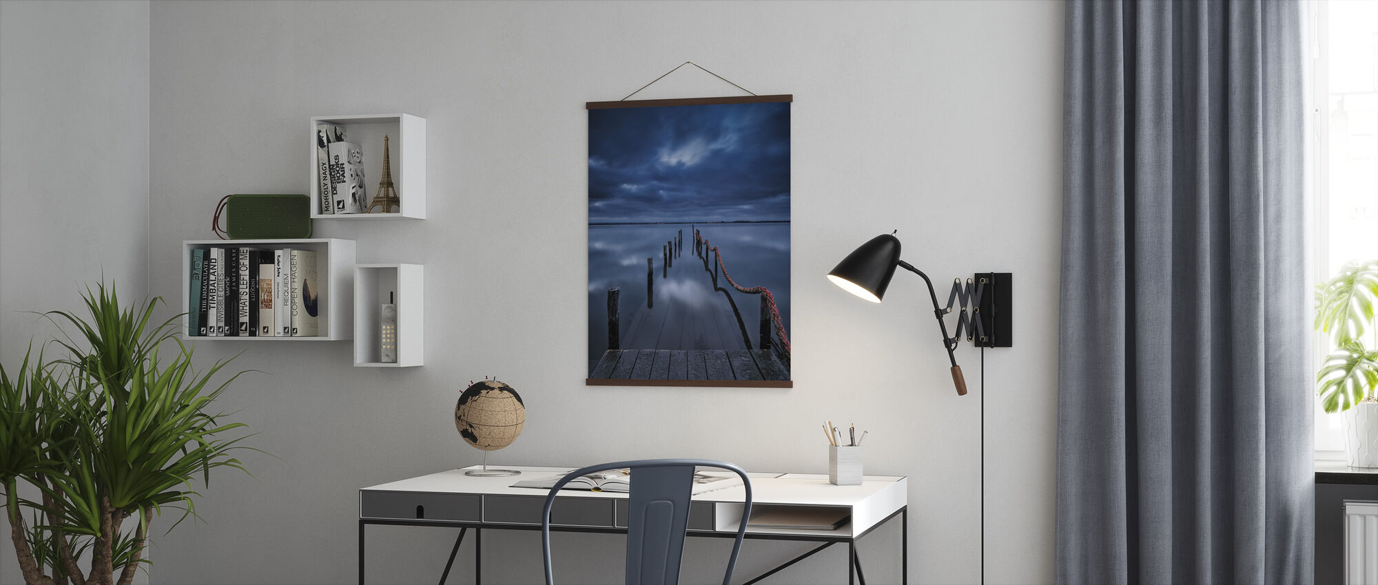 Pier to Nowhere - Poster - Office