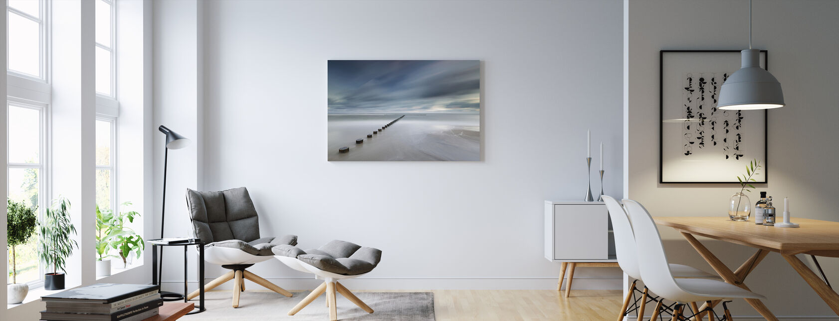 Polish Coastline - Canvas print - Living Room