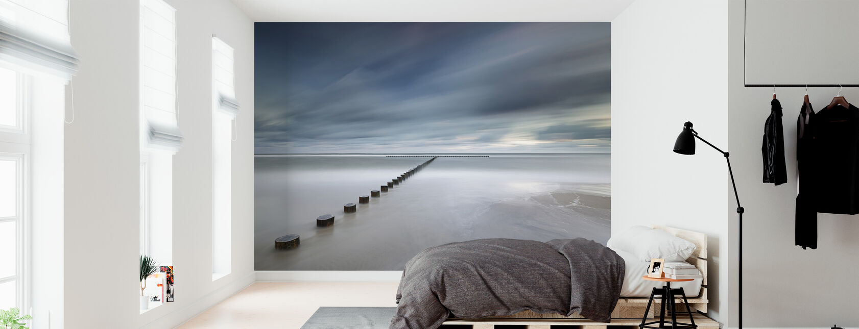 Polish Coastline - Wallpaper - Bedroom