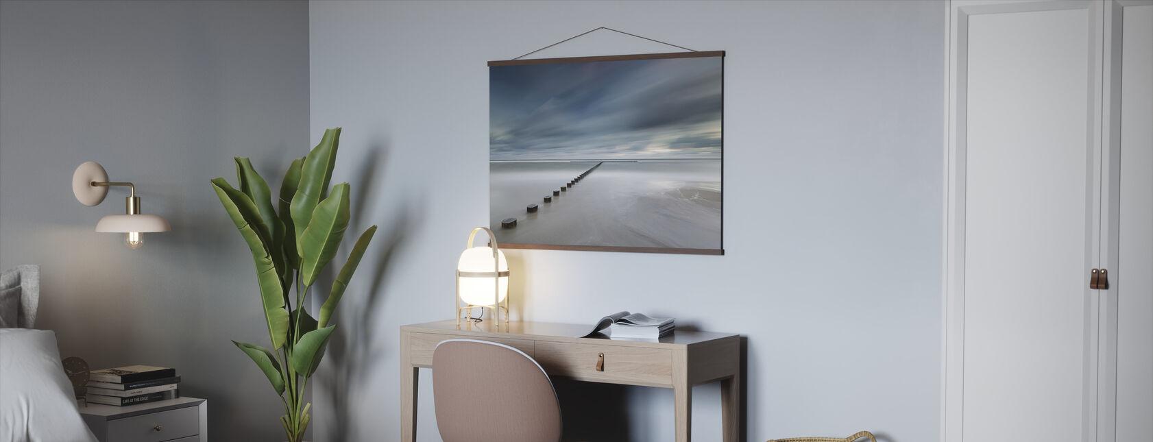 Poolse kustlijn - Poster - Kantoor