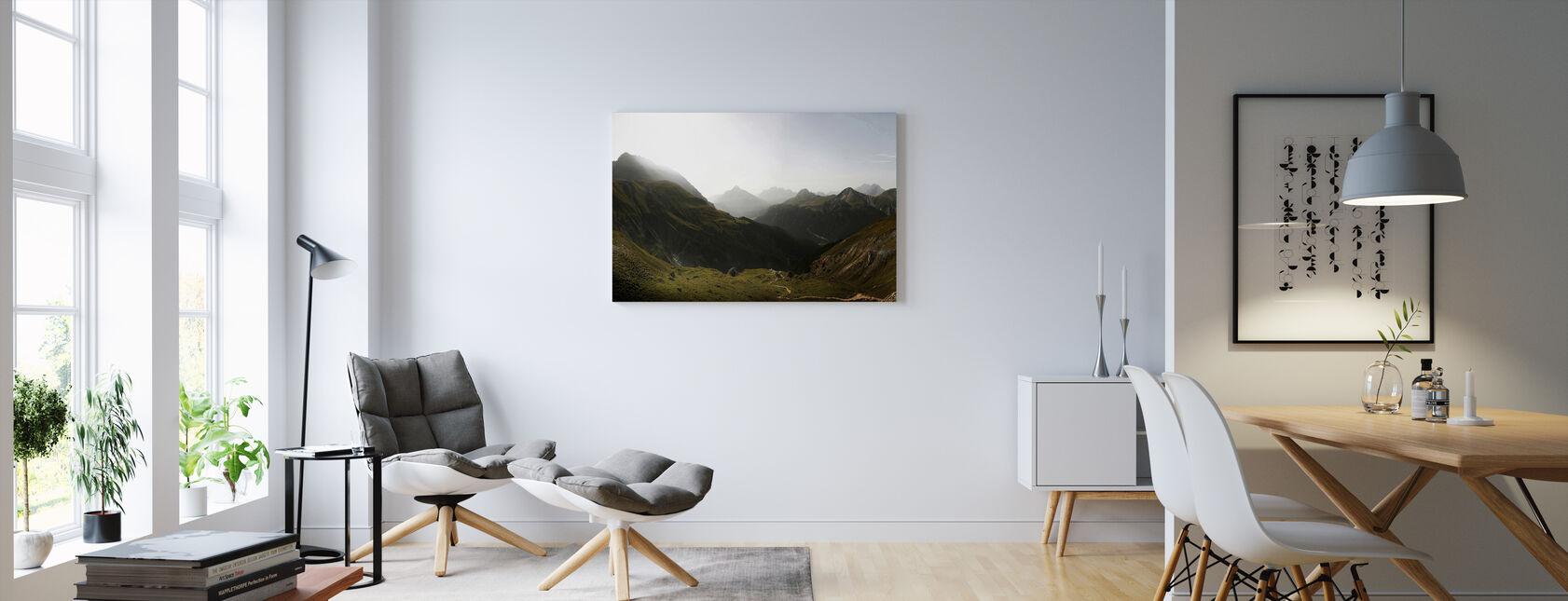 Schweiz Scenics - Billede på lærred - Stue