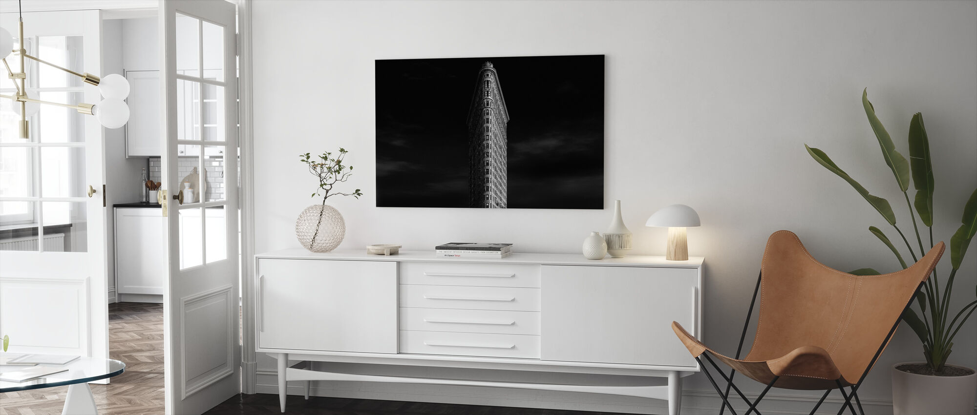 Urban Poetry - Canvas print - Living Room