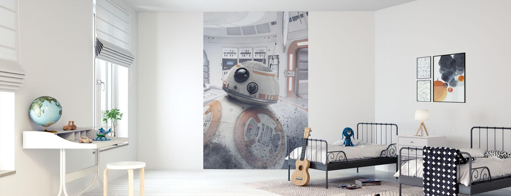 Star Wars - BB-8 Astromech Droid - Tapet - Barnerom
