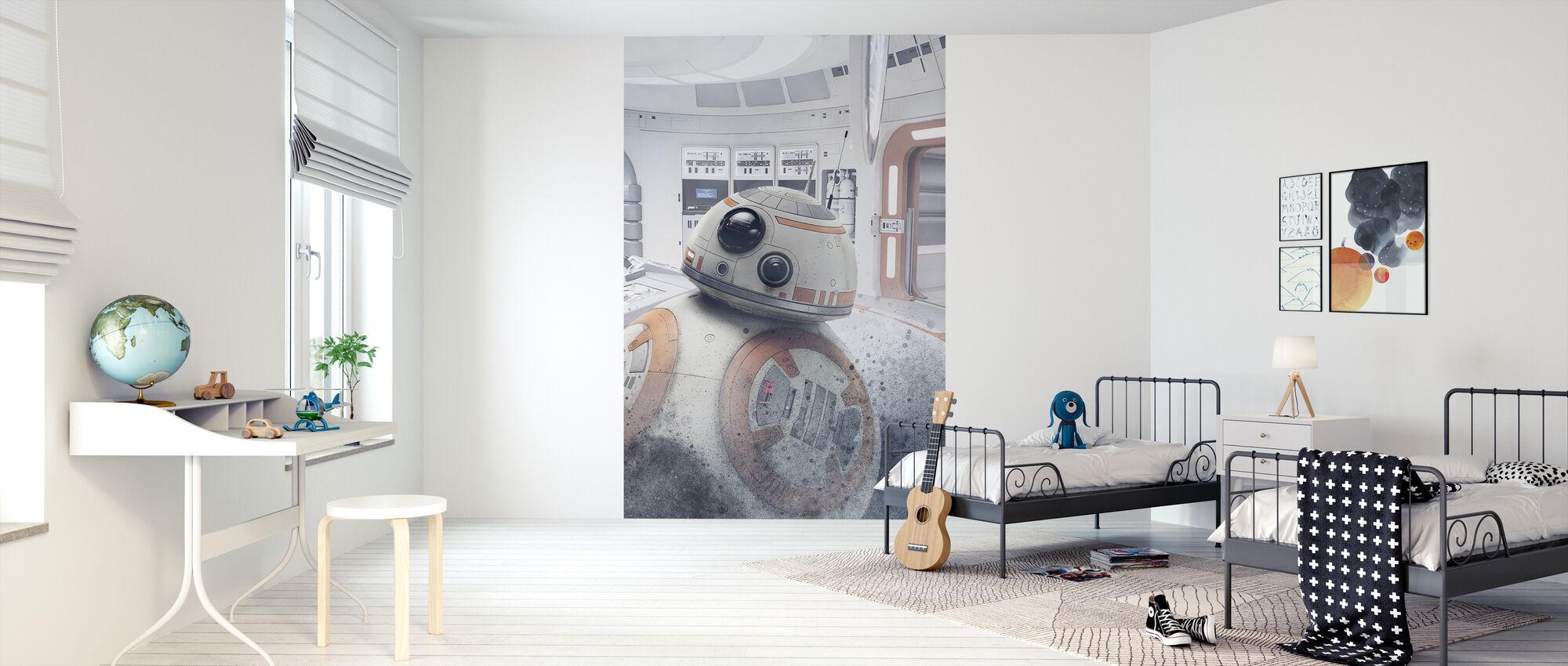 Tähtien sota - BB-8 Astromech Droid - Tapetti - Lastenhuone