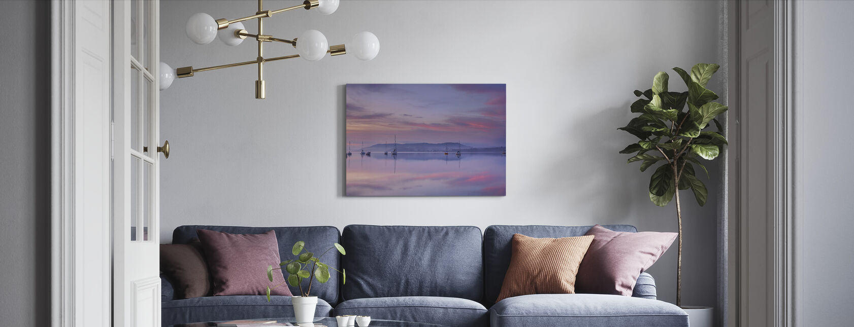 Morning Mood - Canvas print - Living Room
