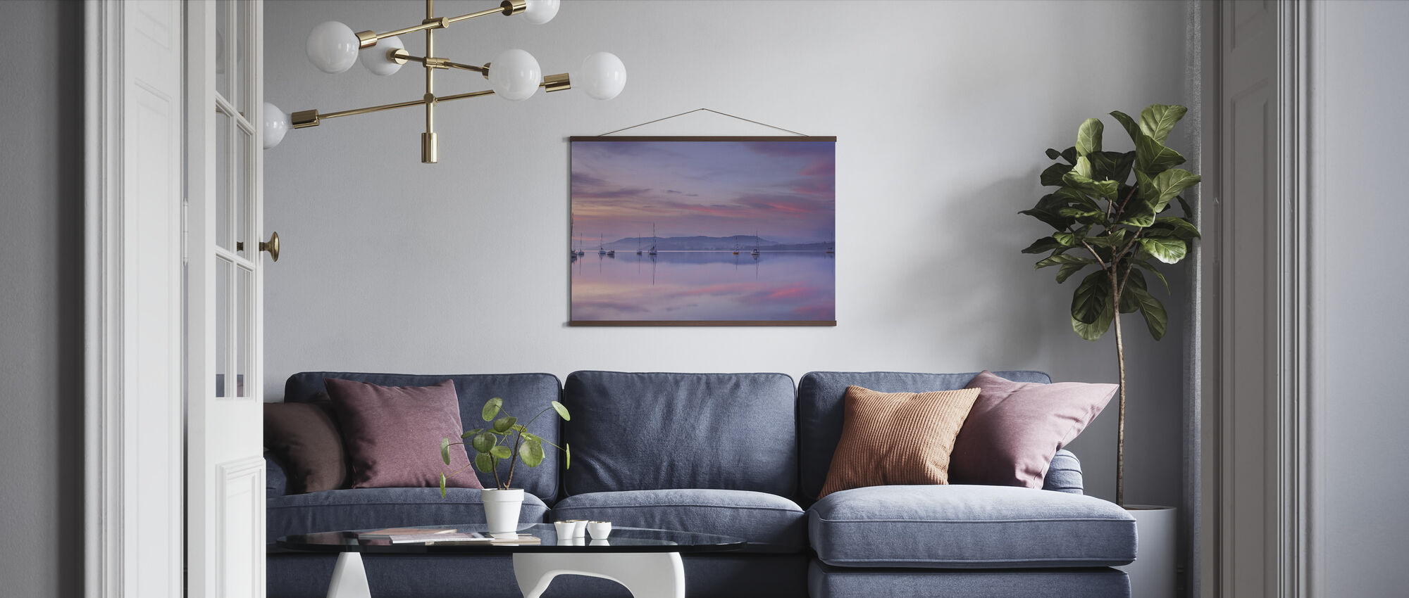 Morning Mood - Poster - Living Room