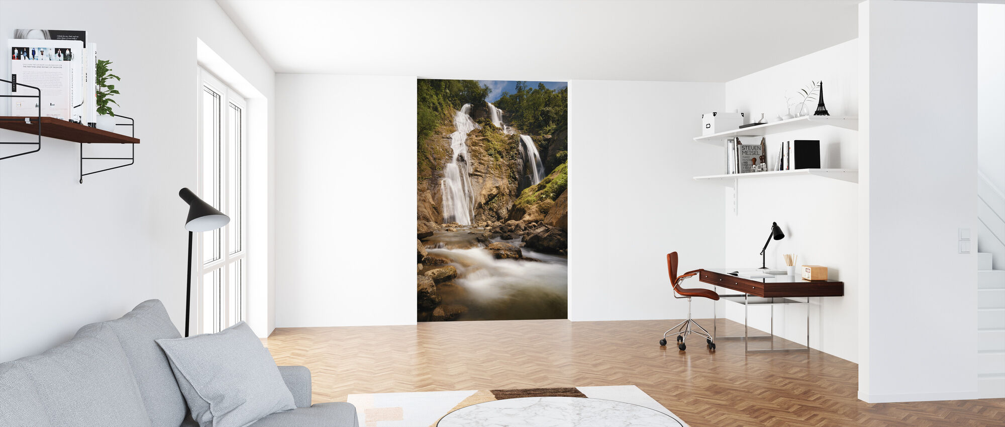 Bani Falls - Wallpaper - Office