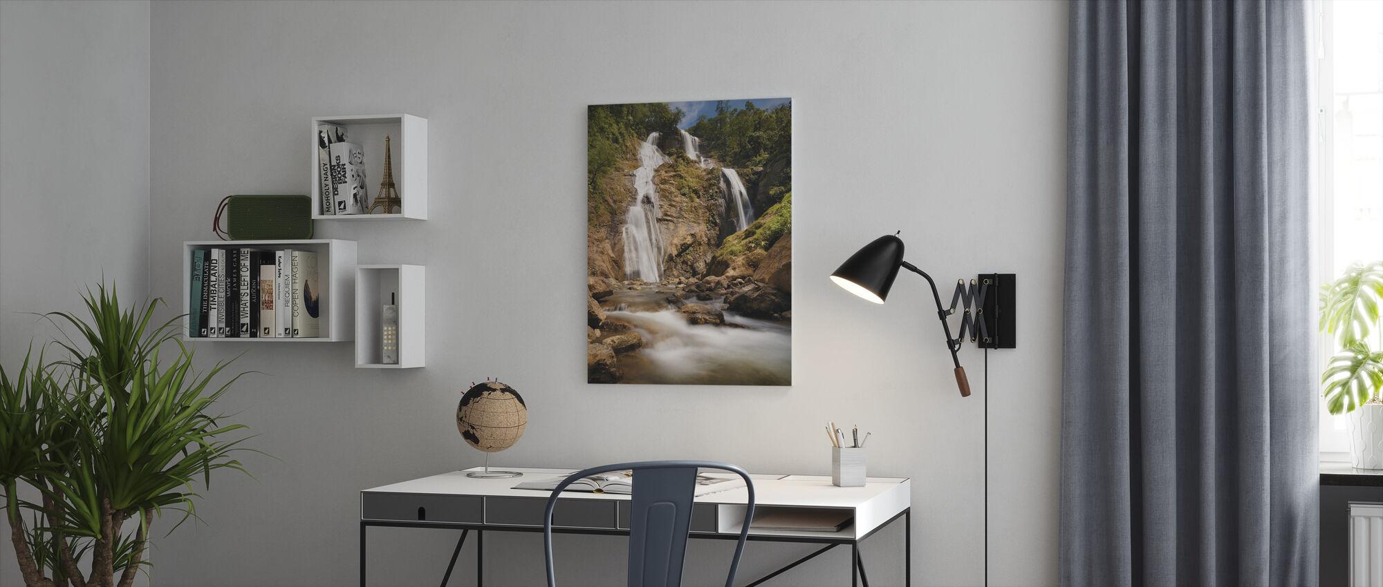 Bani Falls - Lerretsbilde - Kontor