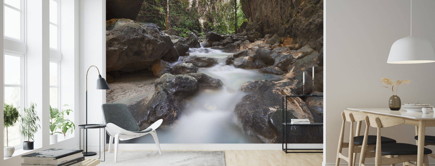 Canyon at Kawasan Falls II - Wallpaper - Living Room