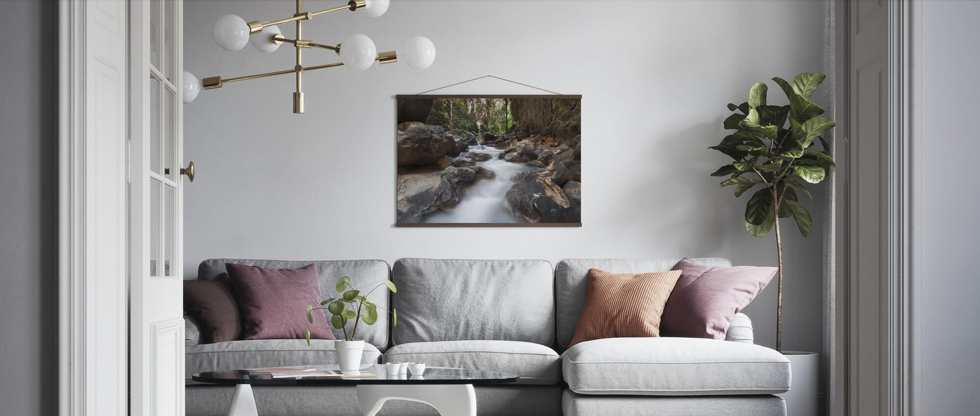 Canyon at Kawasan Falls II - Poster - Living Room
