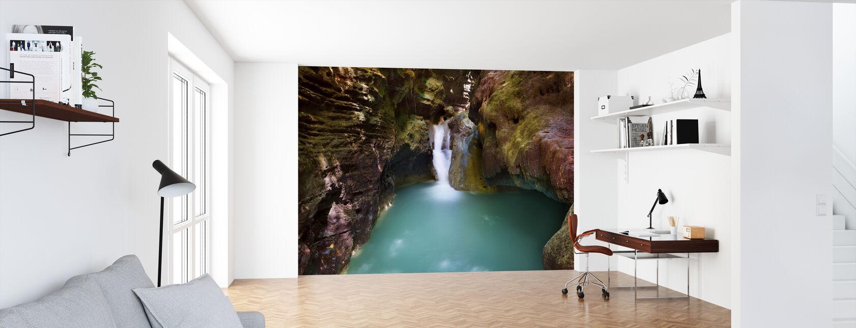 Canyon at Kawasan Falls III - Wallpaper - Office