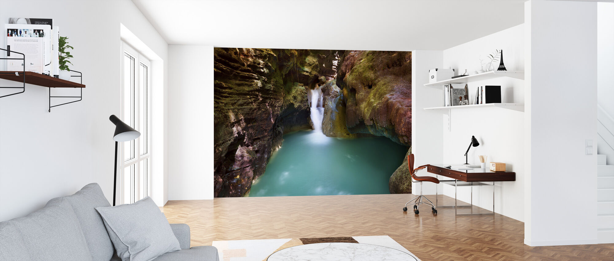 Canyon at Kawasan Falls III - Wallpaper - Office