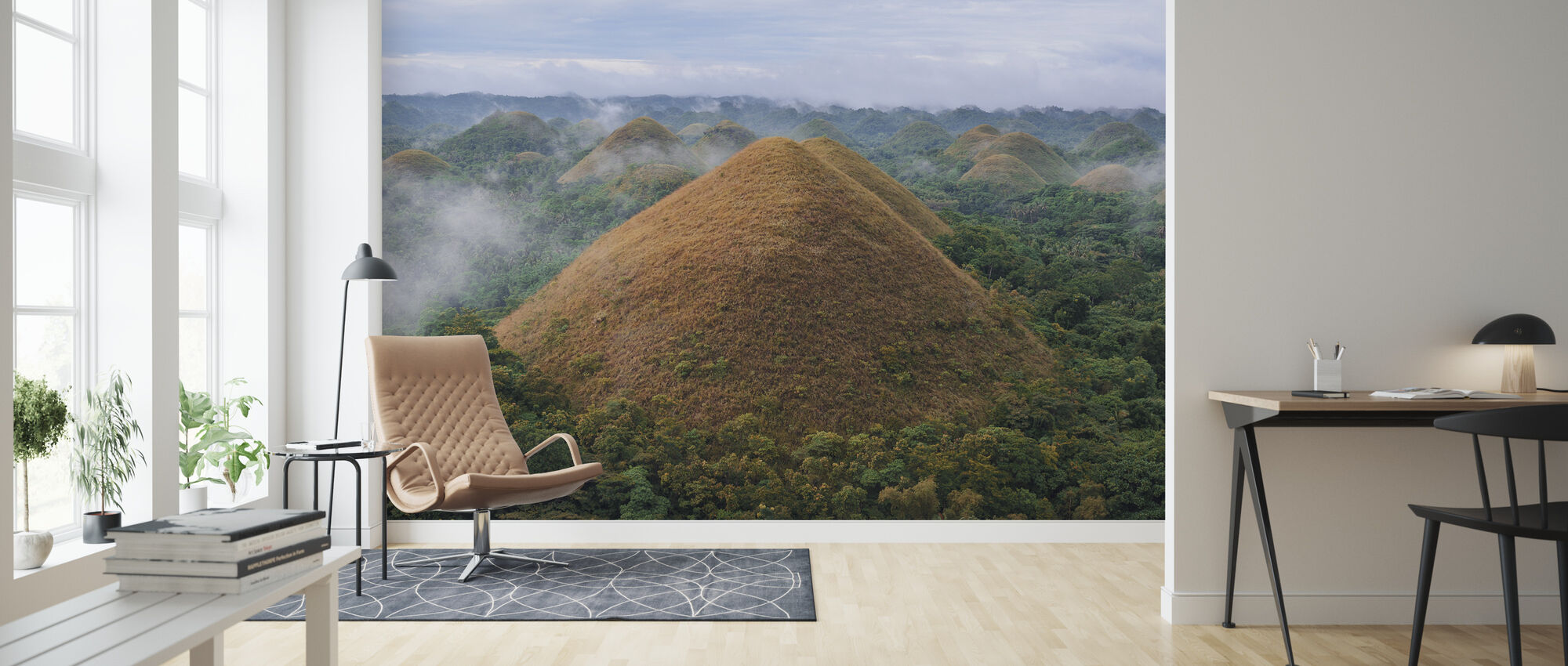 Chocolate Hills - Wallpaper - Living Room