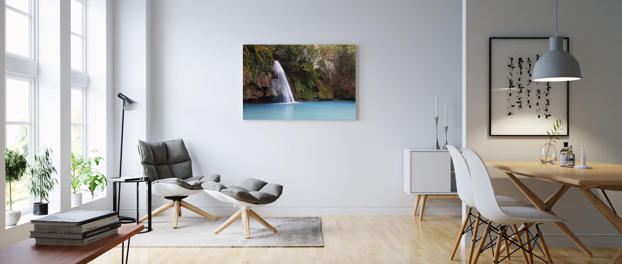 Falls Area - Canvas print - Living Room