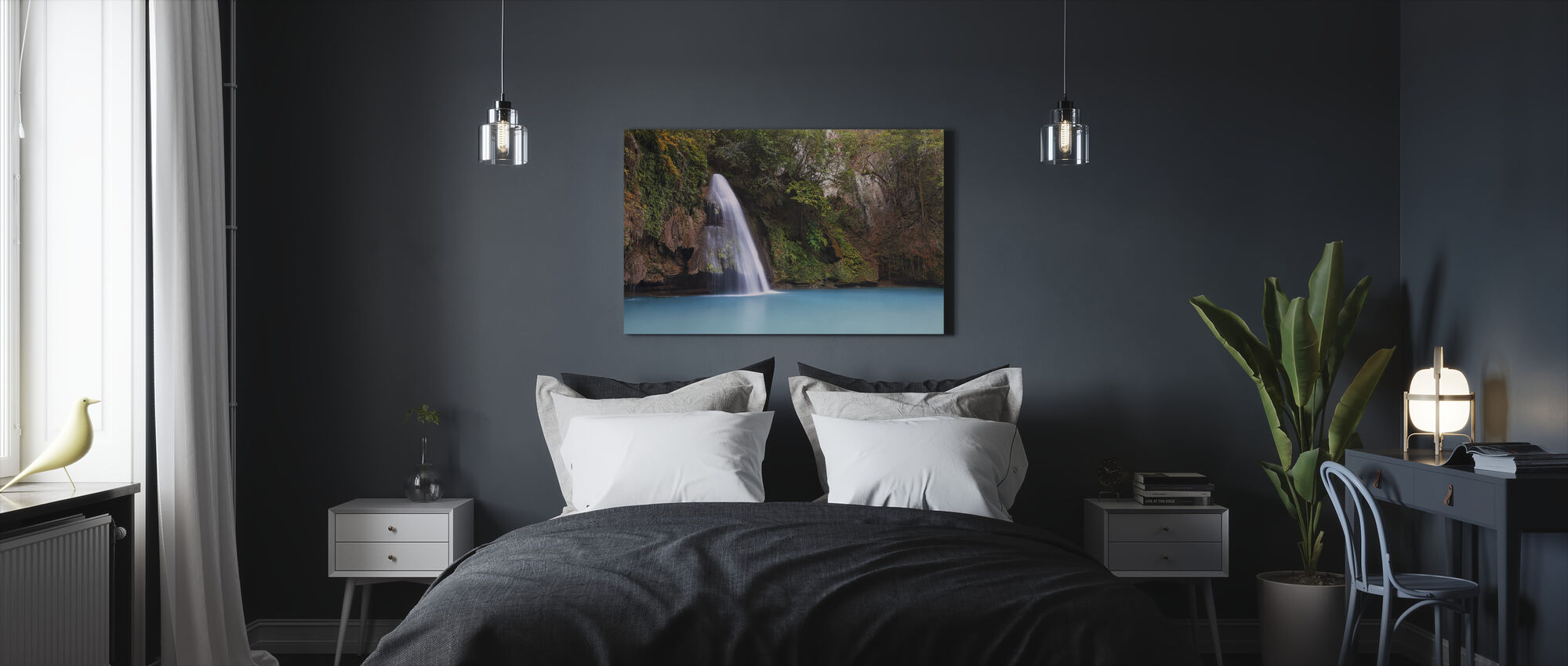 Falls Area - Canvas print - Bedroom