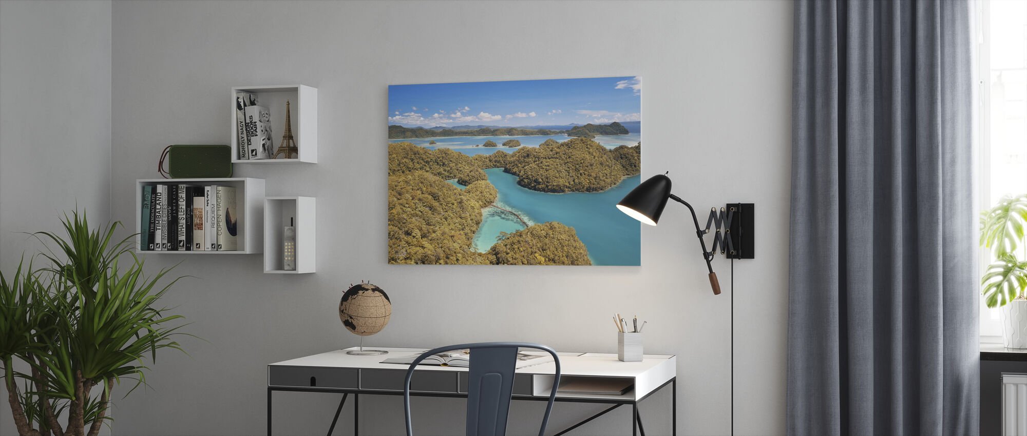 Sugba Lagoon - Canvas print - Office