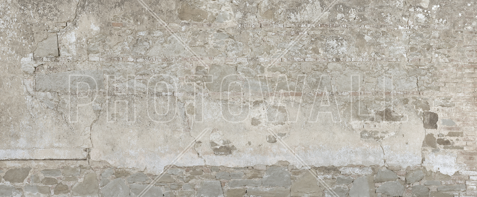 Bright Stone Wall Fototapeter & Tapeter 100 x 100 cm