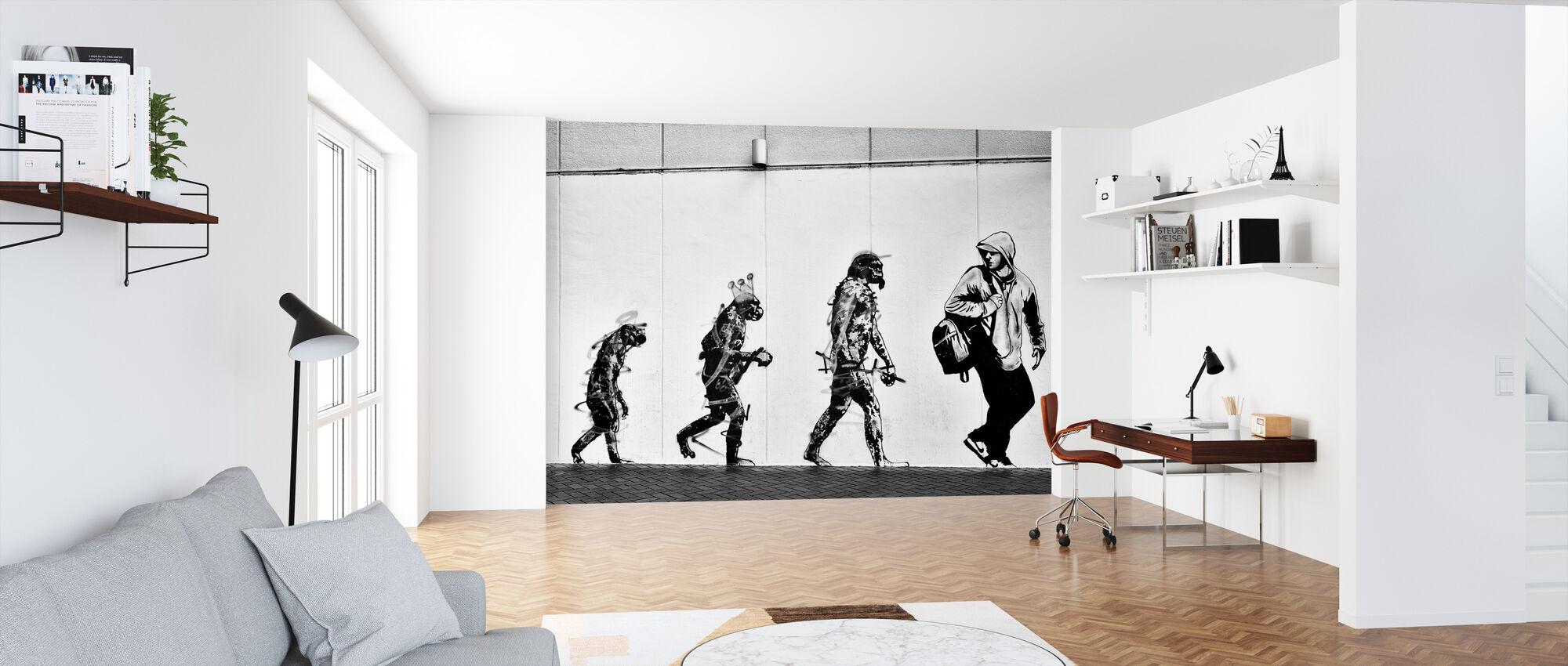 Evolution - Wallpaper - Office