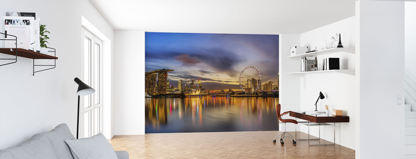 Sunset by the Bay - Wallpaper - Office