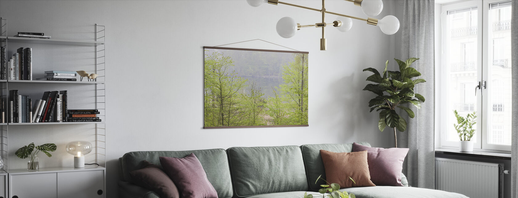 Åkulla Beech Forest - Poster - Living Room