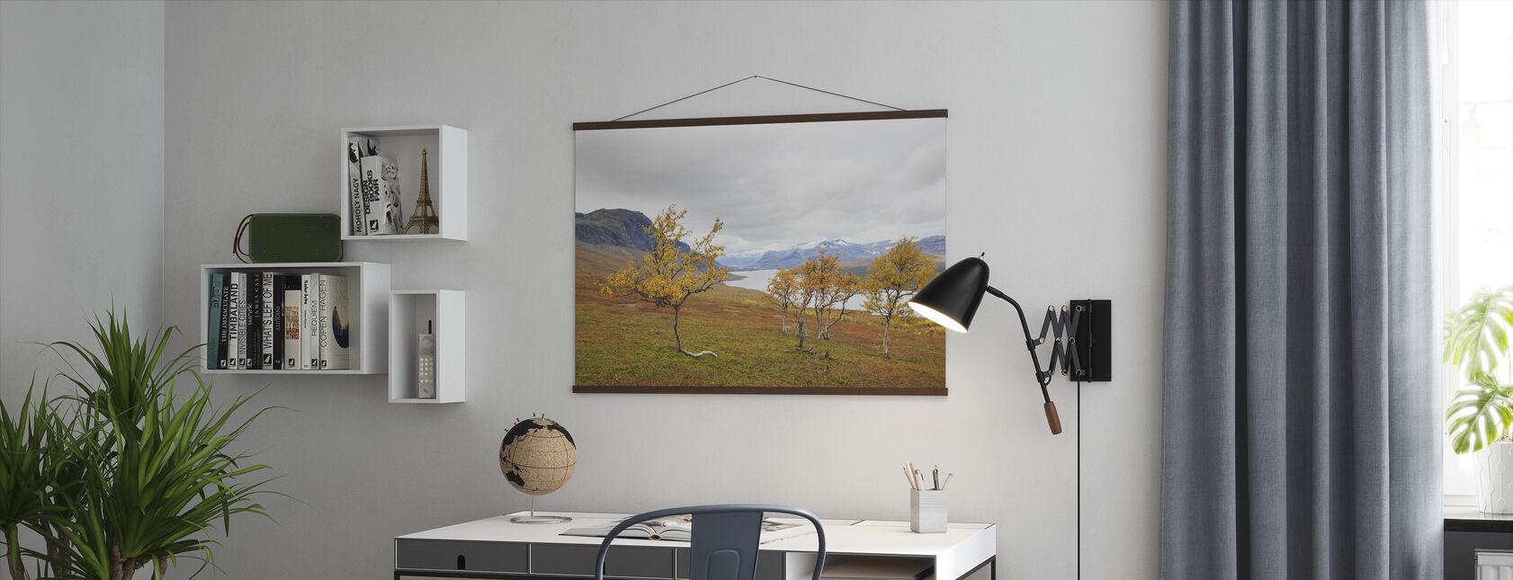Vacker höst i Saltoloukta - Poster - Kontor